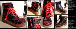 reconstructed boots by rainwalker-craft