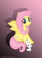 Cute Fluttershy by martybpix