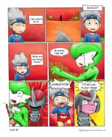 Pokemon trainer 7 ~ page 1 of 12 by MasterPloxy