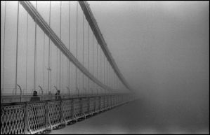Into the fog by ajuk