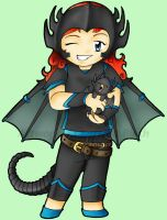 Bahamut Girl by fanchielover15
