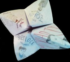 Sherlock Paper Fortune Teller by emily-mary-r
