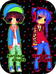 Neon Punk Adopts (OPEN) price reduced by Kariosa-Adopts