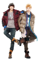 Minho e Key (SHINee) Maypole png [render] by Sellscarol