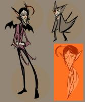 Vamp Dude Concepts by ZazzyPaws