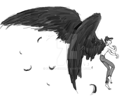 Winged George by Bonka-chan