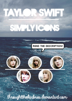 Simply Icons: Taylor Swift by ThroughtTheDarknes