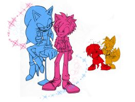 Sonamy, GenderBender Night? by Gatoh721