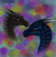 Shadowhunter and Eclipse by MacyGracie