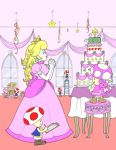 The Preparations Of Princess Peach by TheAnimationGod