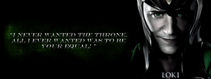 Loki Banner by BluWinterWolf
