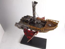 Fantasy Space Ship by LVS-models