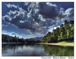 Drina River 3 - HDR by Neshom