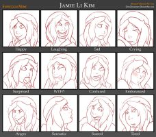 Jamie Expressions Meme by Everyday-Grind-Comic