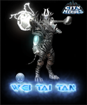 City of Heroes character Wei Tai Tan by lokiie1984
