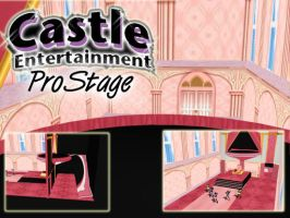 MMD Royal Room Castle Stage by SachiShirakawa
