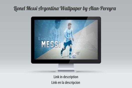 Lionel Messi Argentina Wallpaper by Alan-Pereyra by Alan-Pereyra