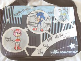 Summer of Sonic 2012 Fan-made Bag by destinal