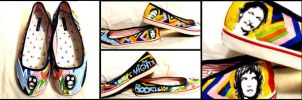 Mighty Boosh Shoes by prueslove