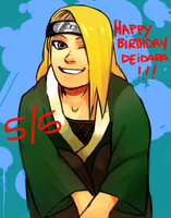 Naruto - late birthday drawing whoops by gensing