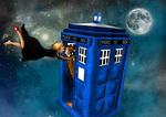 River Song and Doctor by Idax