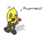 A lemon gives by taking and cares by yelling by PeekingBoo