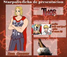Ficha StarlThor by otaku1701