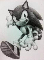 Sonic the hedgehog by raseinn