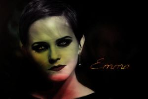 Emma Watson - Vamp beauty by CreativeCupcake