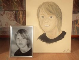 Portrait of a son of a friend by Kreativjunkie
