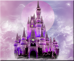 Fantasy Castle Banner by WDWParksGal-Stock