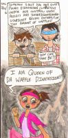 Waffle Dimension by ShoobaQueen