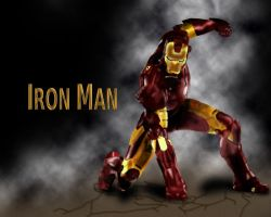 Iron Man (Wallpaper?) by Robler