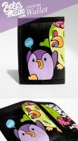 Zombie Penguin wallet by Bobsmade