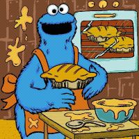 Cookie Monster by jeimicampos