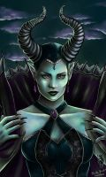 Maleficent by RerinKin