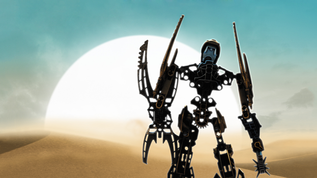 2133x1200 BIONICLE The Legend Reborn Toa Mata Nui by BioMediaProject
