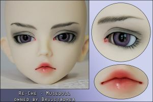 Re-Che Musedoll make-up by youkosilvara