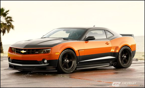 Chevrolet Camaro RS by hussain1