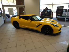 2017 Chevrolet Corvette Z51 Coupe (C7) by TheHunteroftheUndead
