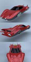 Flying car prototype Y body by Marian87