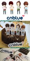100424 CNBLUE Debut 100 Days by miisheruu