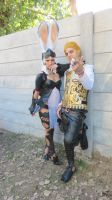 Balthier and Fran 04 by drkitsune