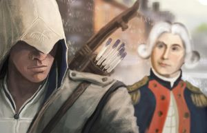 Assassins creed 3 CONNOR by Chenjunnn