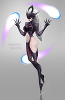 Fan skin || Galactic Syndra by EriFab