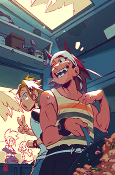 Sun For All zine entry by DroseAttack