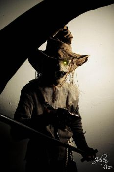 Scarecrow Cosplay P5 by Boredman