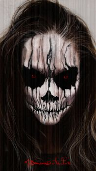 Halloween Face Paint by MichaelBroussard
