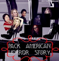 Pack American Horror Story: Coven by imlostinwonderland14