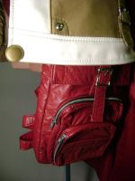 Lightning Red Bag by gstqfashions